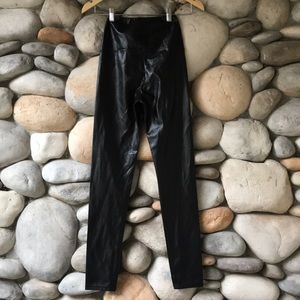 Wilfred Free Daria Faux Leather Pant Black XS